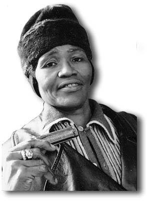 Big Mama Thornton - Photo by Dick Waterman (All Rights Reserved)